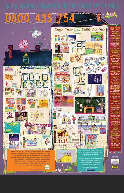 Rights of the Child poster: Child Welfare C T.