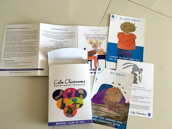 Classroom materials: box leaflet and cards