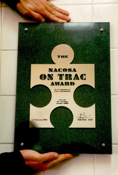 ON TRAC Award (Nacosa, Durban)