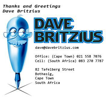 Dave Britzius business signature
