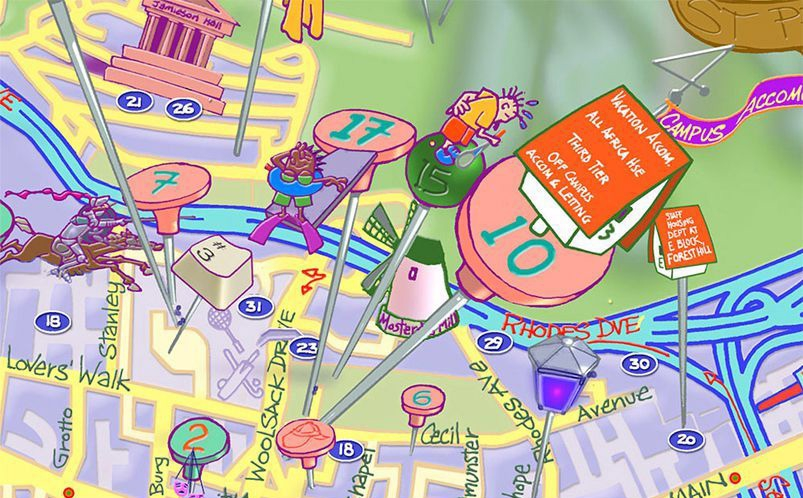 Detail UCT map