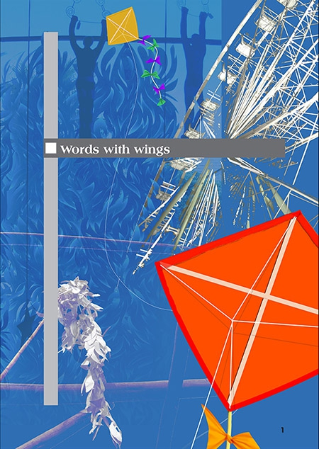 Titlepages: Words with wings