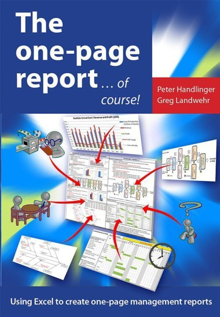 One-Page-report book cover