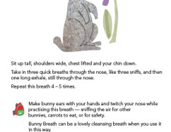 Bunny breath instructions