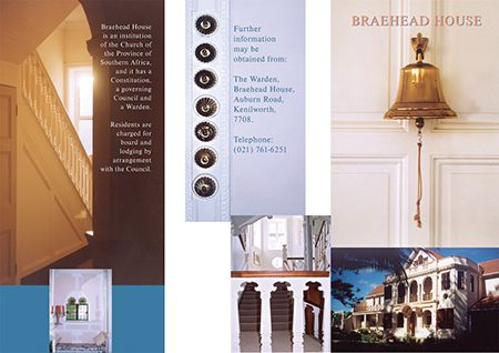 Brochure for Braehead (Anglican Church of the Province, Cape Town)