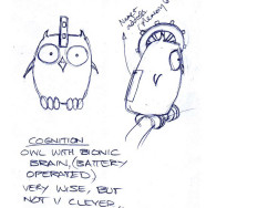 First drawings: Cogs