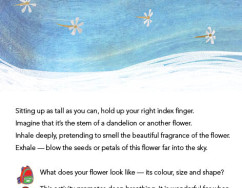 Flower breath instructions