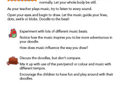 Music Doodle instructions