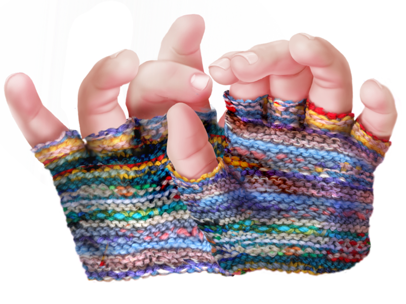 The little twin mittens, characters, When the Glove Dies