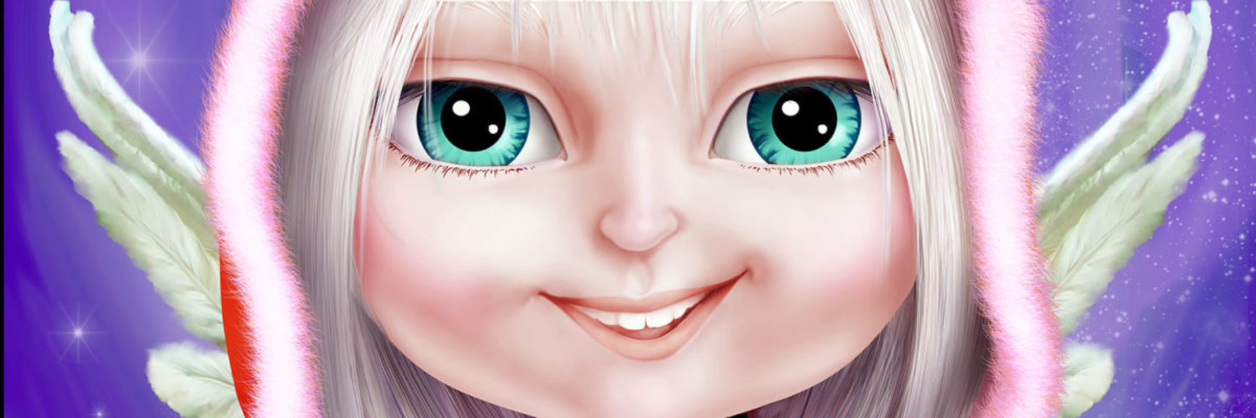 Close up - Inga, character from Little Wingsters TV series