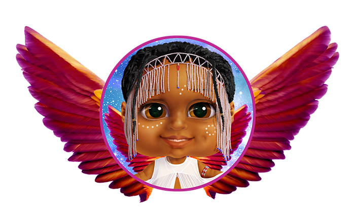 Coco wing medallion