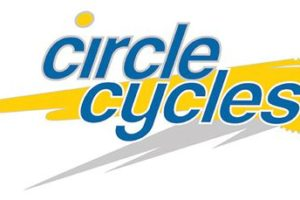 One of my older logos for a cycle shop which was situated on the Circle in Fish Hoek