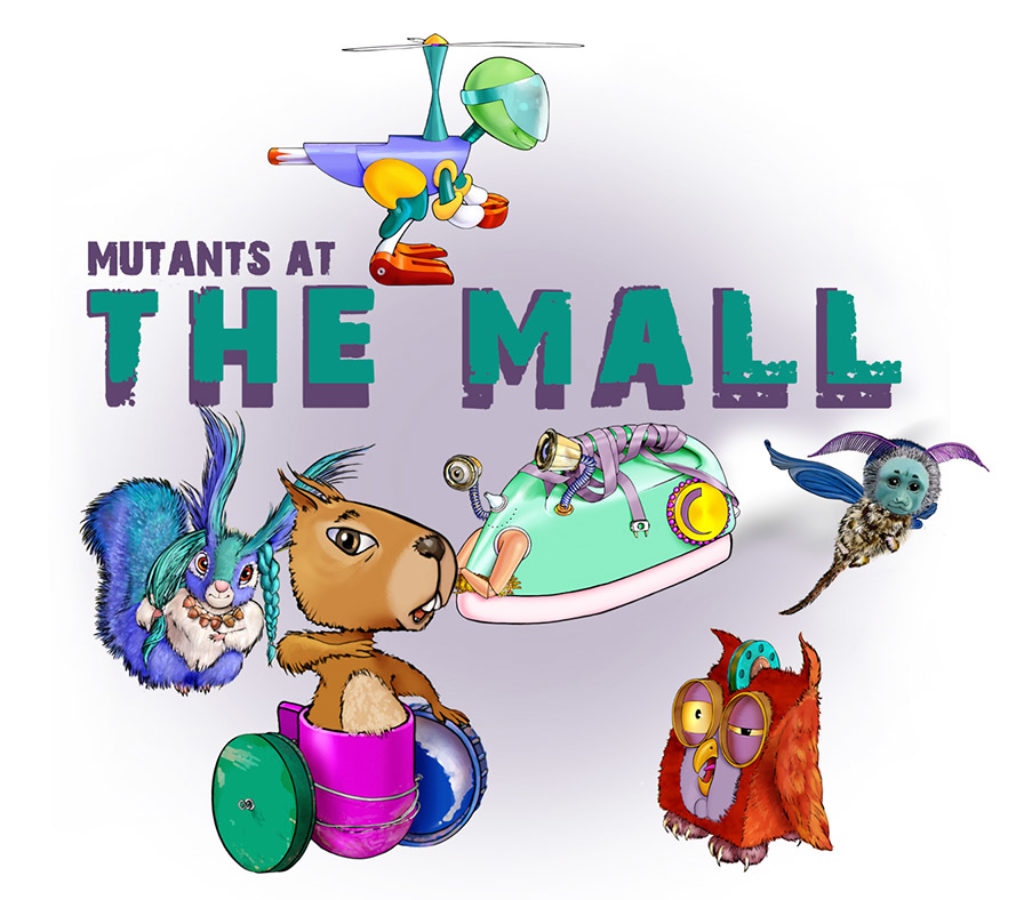 Mutants at the Mall main image